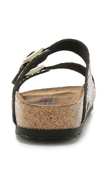 Birkenstock Arizona Python Sandals