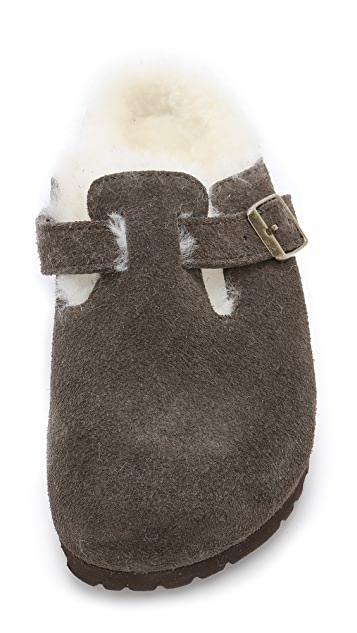 Birkenstock Boston Shearling Slip On Clogs