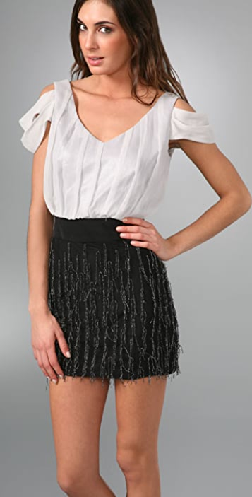 Black Halo Kimberley Mini Dress