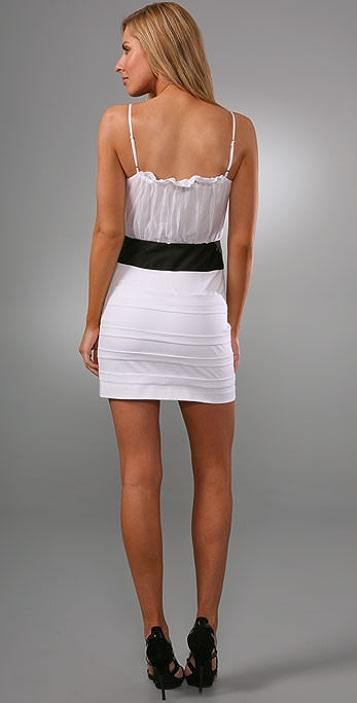 Black Halo Kendall Mini Dress