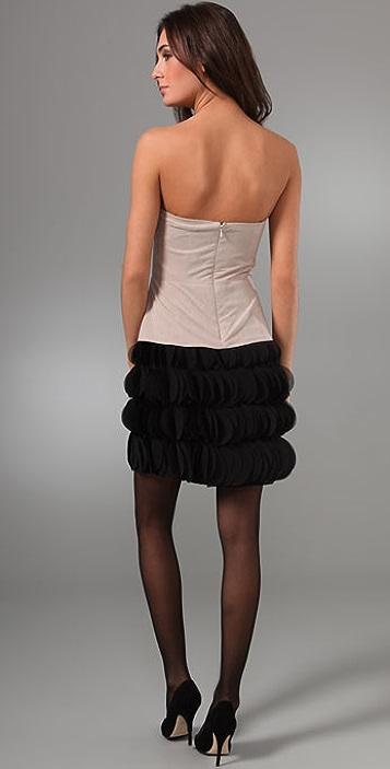 Black Halo Frou Frou Dress