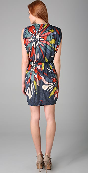 Black Halo Jill Mini Dress