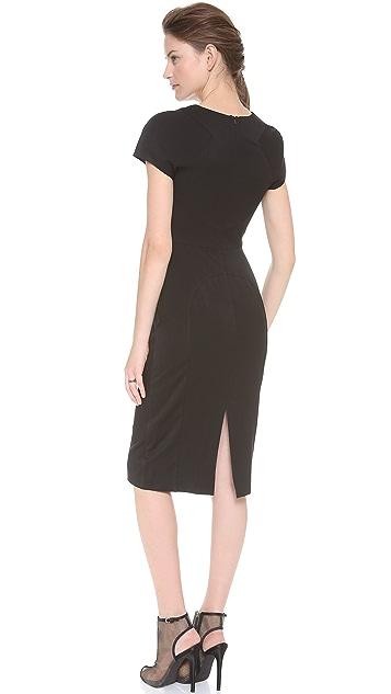 Black Halo Gypsy Rose Sheath Dress