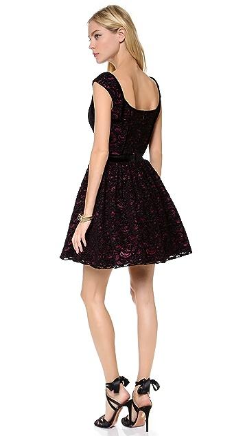 Black Halo Eve Serena Lace Dress