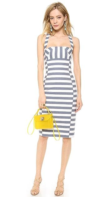 Black Halo Bryson Stripe Sheath Dress