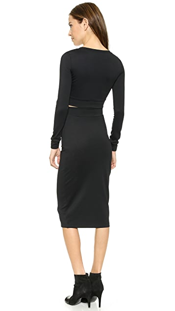 Black Halo Marett Two Piece Sheath Dress