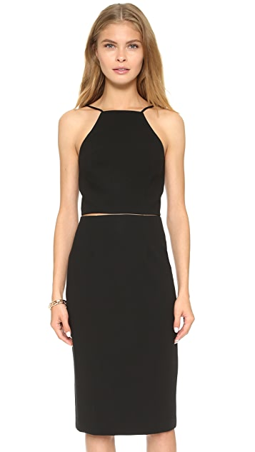 Black Halo Andretti Two Piece Dress