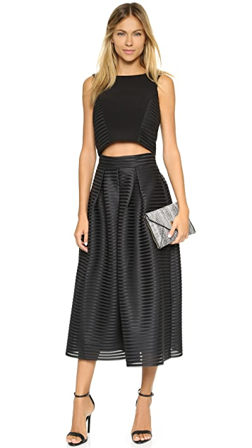 Black Halo Acadia Two Piece Dress