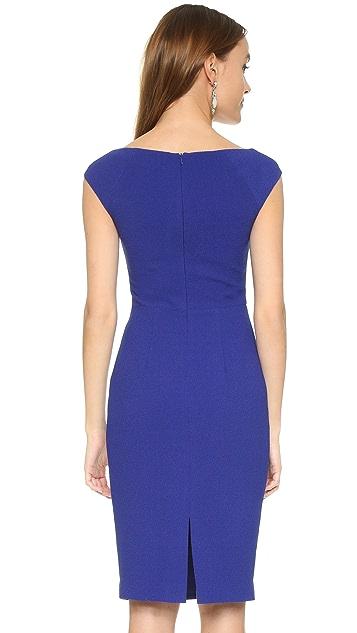 Black Halo Waverley Sheath Dress