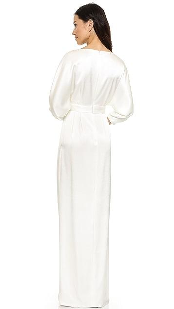 Black Halo Vallie Gown
