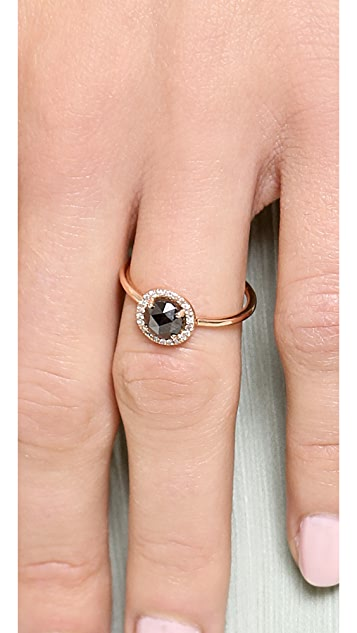 blanca monros gomez Rose Cut Diamond Solitaire Ring
