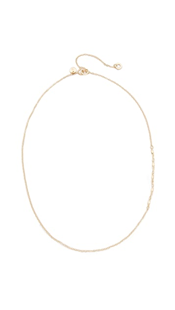 blanca monros gomez 14k Gold Chain Lavalier Necklace