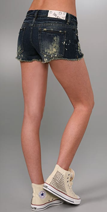 Blank Denim Relaxed Classique Denim Shorts
