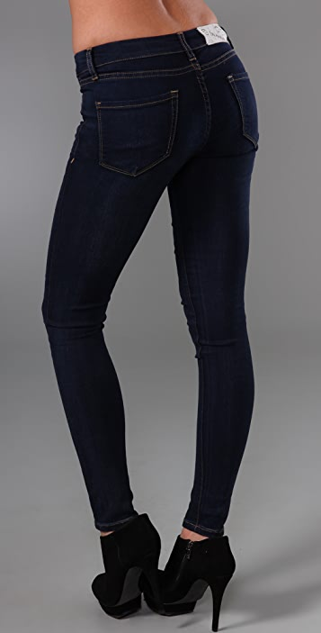 Blank Denim Ankle Skinny Legging Jeans