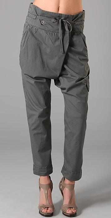 Blank Denim Army Harem Cargo Pants