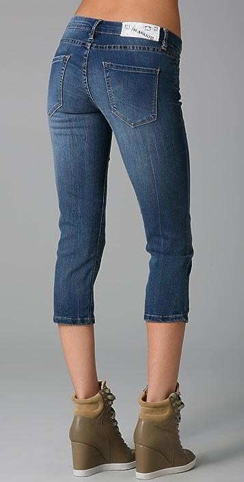 Blank Denim Cropped Skinny Jeans