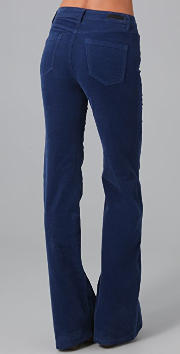 Blank Denim High Rise Corduroy Bell Bottom Pants