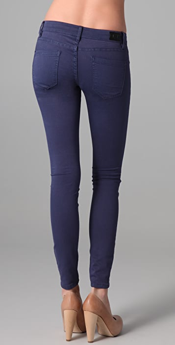 Blank Denim Spray-On Skinny Jeans
