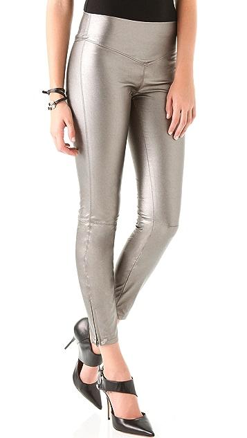 Blank Denim Vegan Leather Leggings