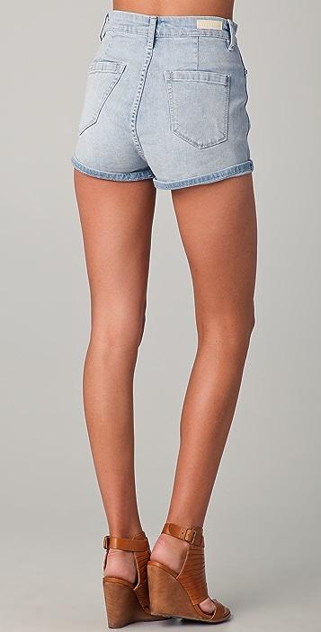 Blank Denim High Waisted Shorts