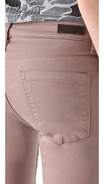 Blank Denim Cocoa Twill Skinny Pants