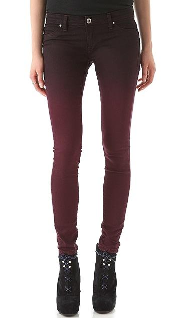 Blank Denim Spray On Super Skinny Jeans