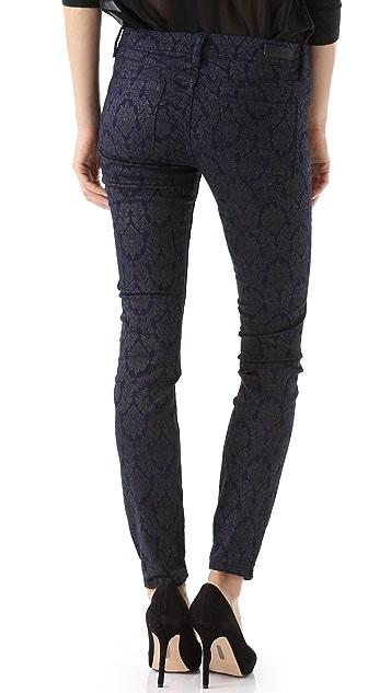 Blank Denim Print Skinny Jeans