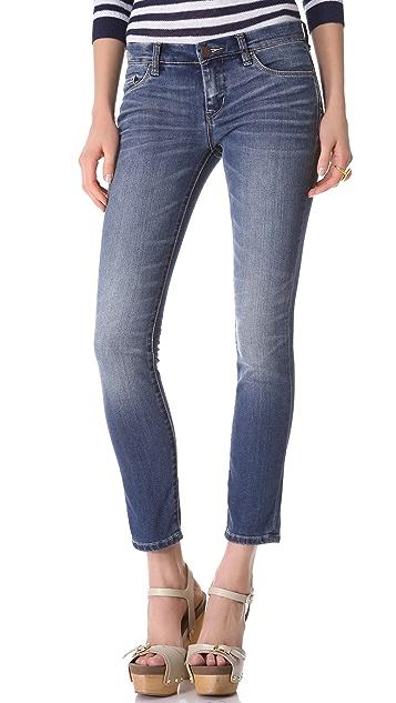 Blank Denim Cigarette Skinny Jeans