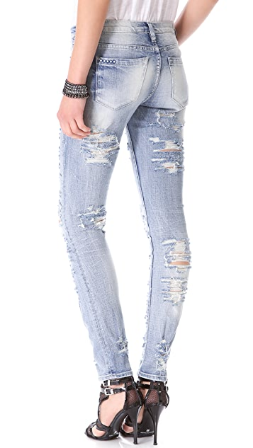 Blank Denim Distressed Jeans
