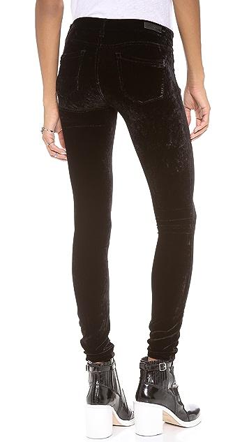 Blank Denim Velvet Skinny Pants