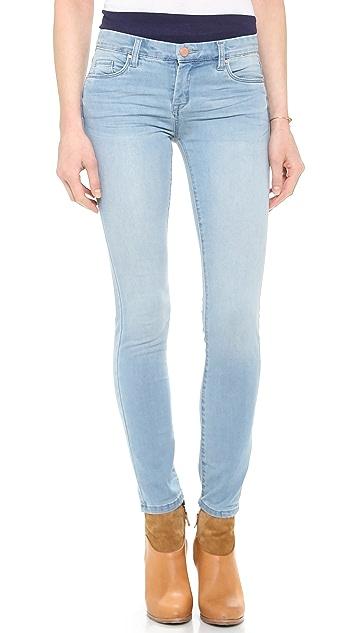 Blank Denim Faded Skinny Jeans