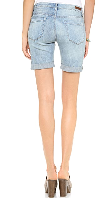 Blank Denim Roll Up Boyfriend Shorts