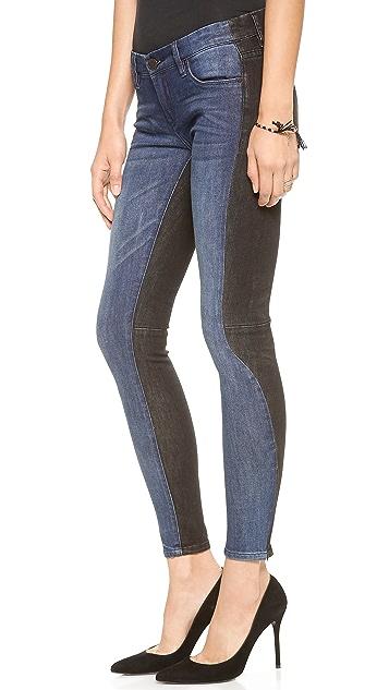 Blank Denim Two Tone Skinny Jeans