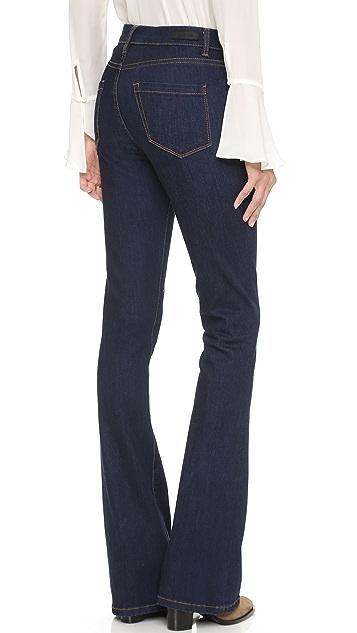 Blank Denim Расклешенные джинсы с высокой посадкой