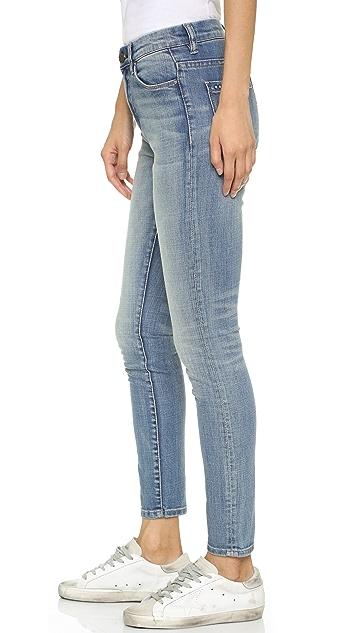 Blank Denim High Rise Ankle Skinny Jeans