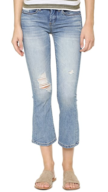 Blank Denim The Cropped Micro Flare Jeans