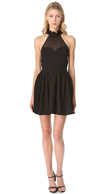 Blaque Label Halter Top Dress