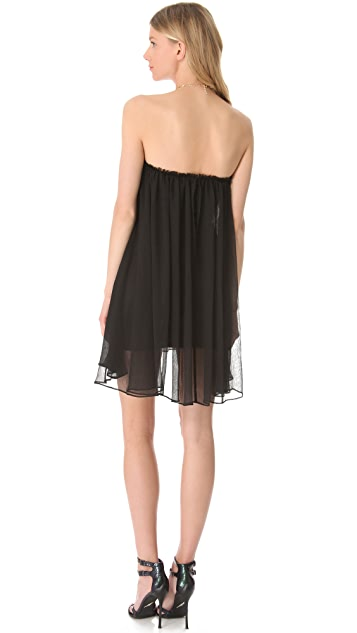 Blaque Label Strapless Mini Dress