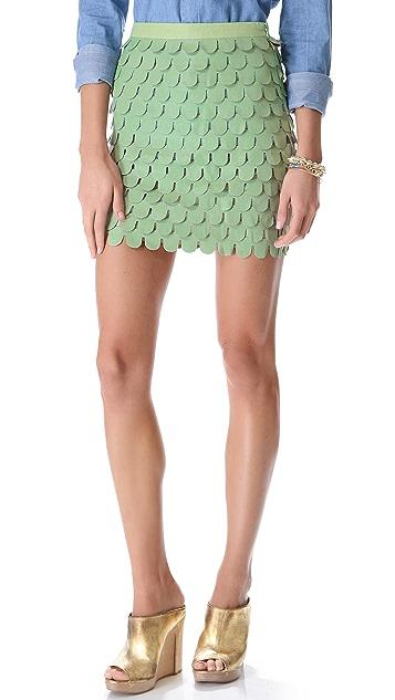 Blaque Label Ruffle Skirt