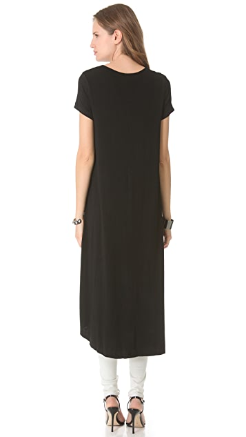 Blaque Label Short Sleeve Maxi Top