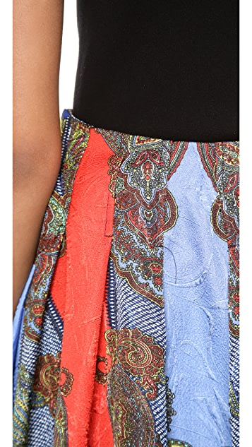 Blaque Label Print Skirt