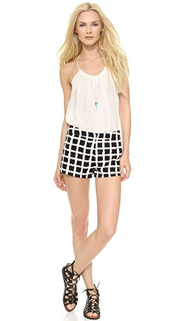 Blaque Label Checkered Shorts