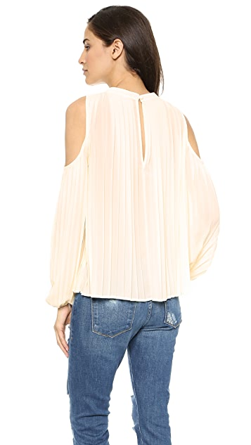 Blaque Label Pleated Top
