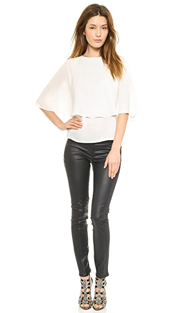 Blaque Label Layered Blouse