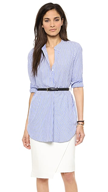 Blaque Label Striped Tunic Blouse