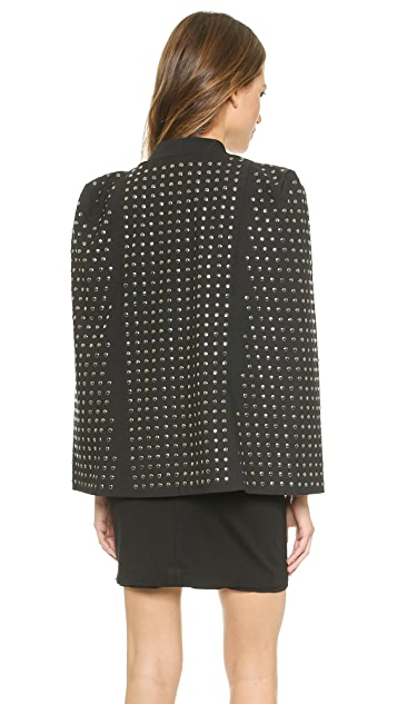 Blaque Label Studded Cape Jacket