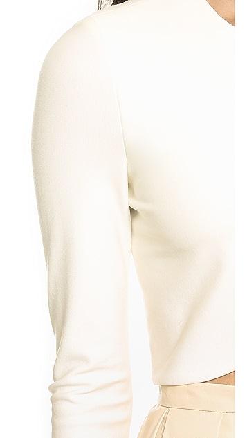 Blaque Label Скульптурный укороченный топ