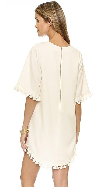 Blaque Label Dress with Tassels