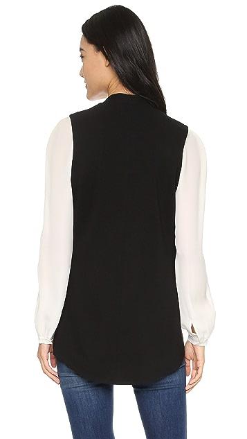 Blaque Label Knit Sculpted Vest