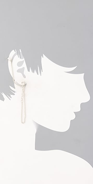 Bliss Lau Whisper Earrings with Cuff